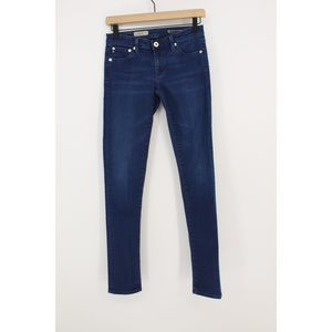AG The Legging Super Skinny Fit Jeans 26 Mid Rise